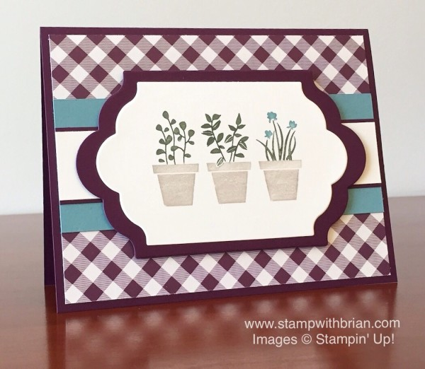 Gift from the Garden, Stampin' Up!, Brian King, FabFri69