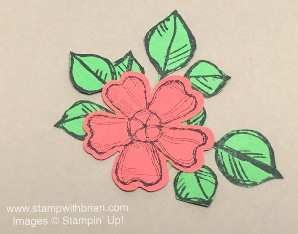 Birthday Blossoms, Remarkable You, Stampin' Up!, Brian King