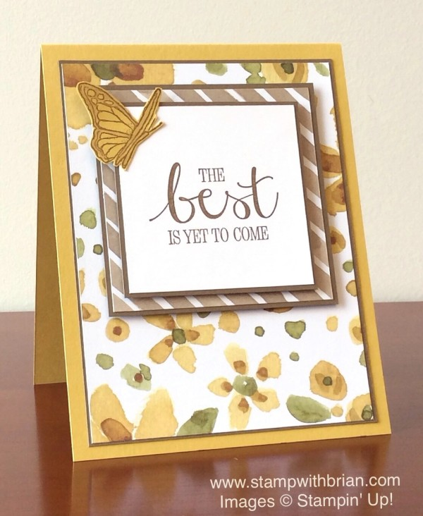 Best Thoughts, English Garden Designer Series Paper, Stampin' Up!, Brian King, FabFri68