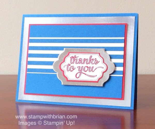 Happy Notes, Stampin' Up!, Brian King, PPA259