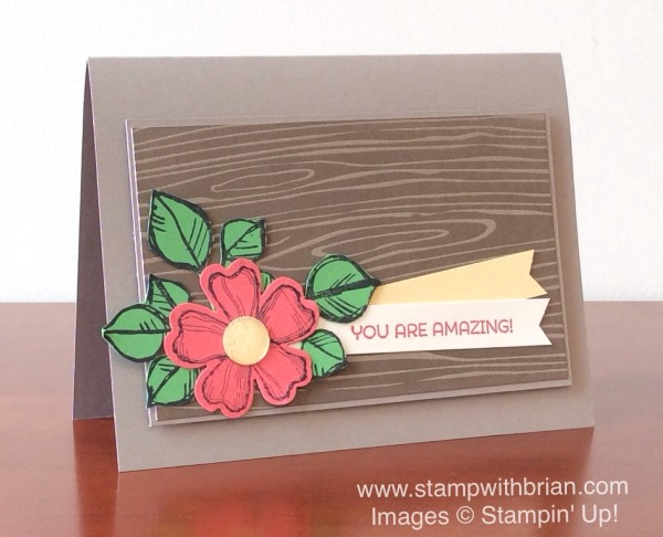 Birthday Blossoms, Cottage Greetings, Remarkable You, Stampin' Up!, Brian King