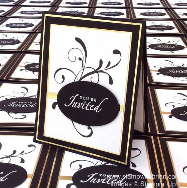 Everything Eleanor, Anniversary Invitations, Stampin' Up!, Brian King