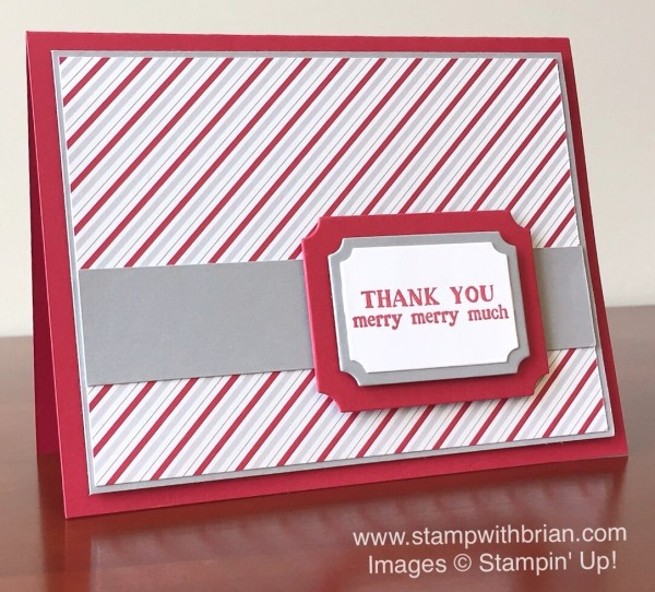 Santa's Gifts, Tags & Labels Framelits, Merry Moments Designer Series Paper, Stampin' Up!, Brian King