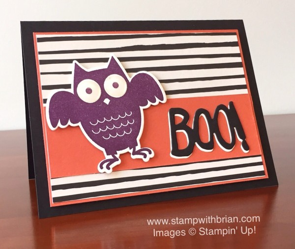 Howl-o-ween Treat, Stampin' Up!, Brian King