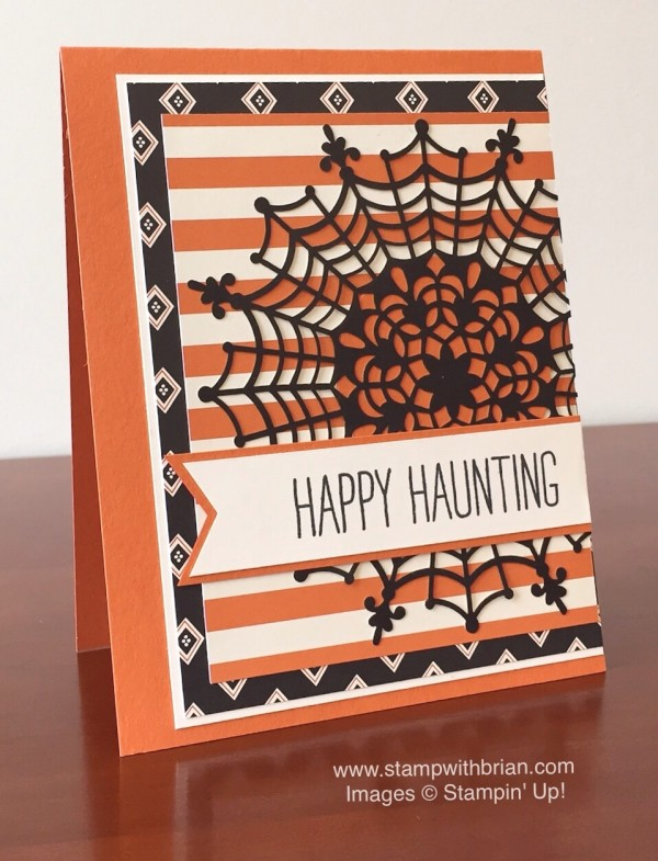 Cheer All Year, Happy Haunting Designer Series Paper, Stampin' Up!, Brian King, FabFri70