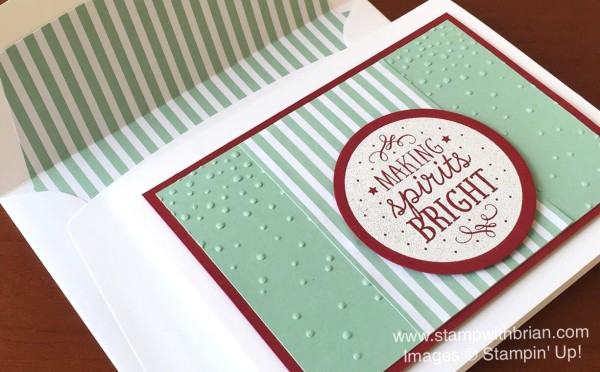 Among the Branches, Softly Falling Textured Impressions Embossing Folder, Stampin' Up!, Brian King