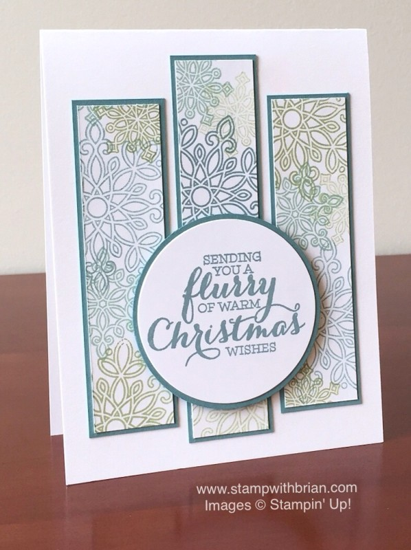 Flurry of Wishes, Stampin' Up!, Brian King, PPA264