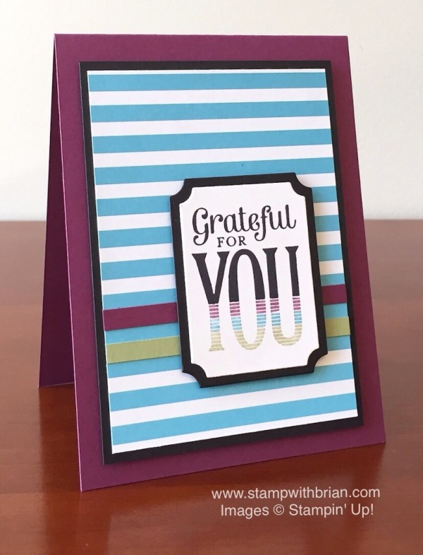 Merry Everything, Stampin' Up!, Brian King, PPA263