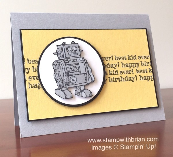 Boys Will Be Boys, Stampin' Up!, Brian King