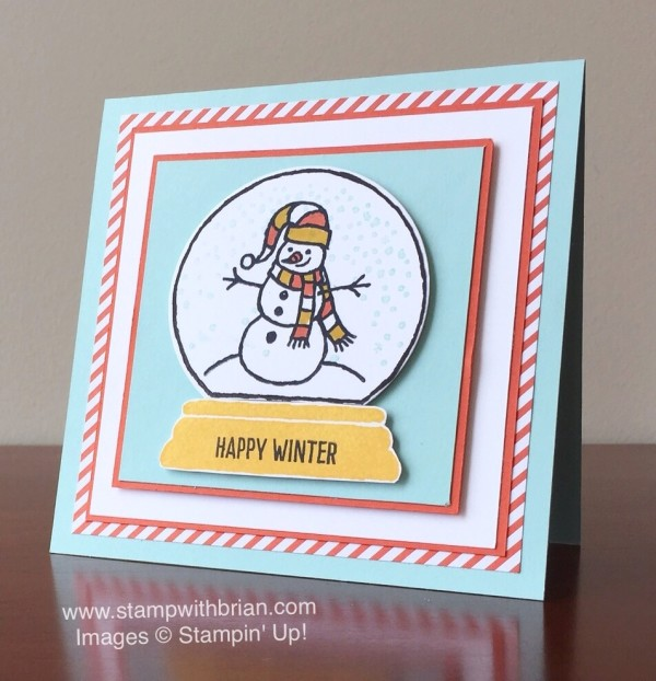 Sparkly Season, Happy Scenes, Stampin' Up!, Brian King, PPA267