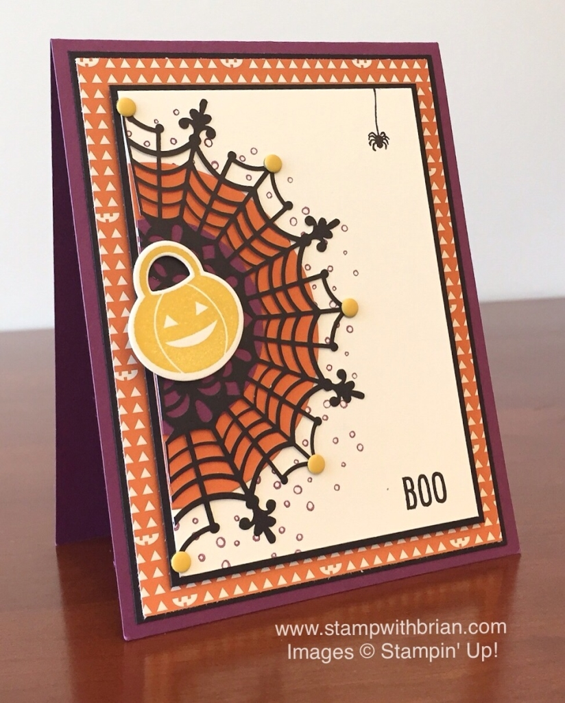 Happy Scenes, Howl-o-ween Treat, Stampin' Up!, Brian King, PPA269