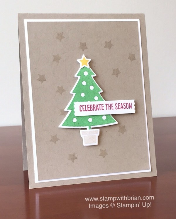 Cheer All Year, Happy Scenes, Stampin' Up!, Brian King, FMS203