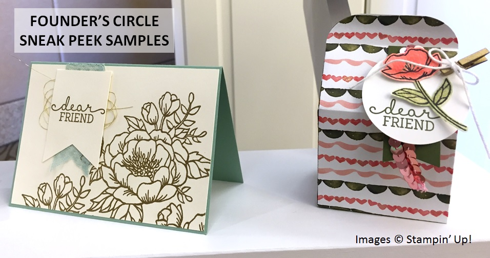 Stampin' Up! Founder's Circle 2015, Birthday Blooms Sneak Peek