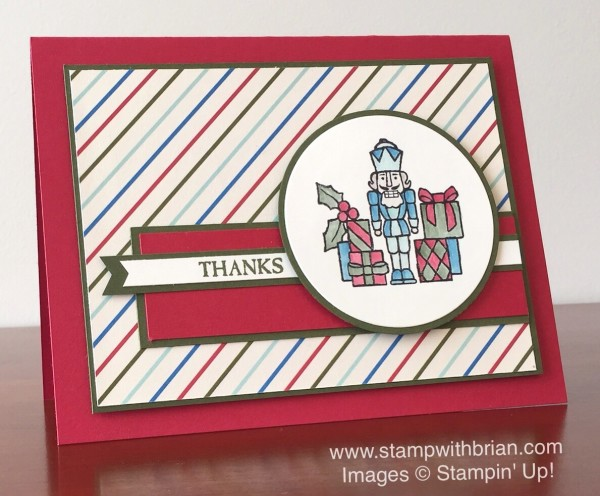 Sparkly Seasons, Home for Christmas Designer Series Paper, Stampin' Up!, Brian King, GDP002