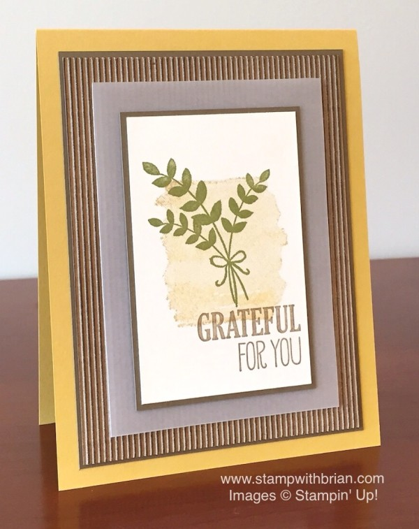 For All Things, Stampin' Up!, Brian King, PPA271