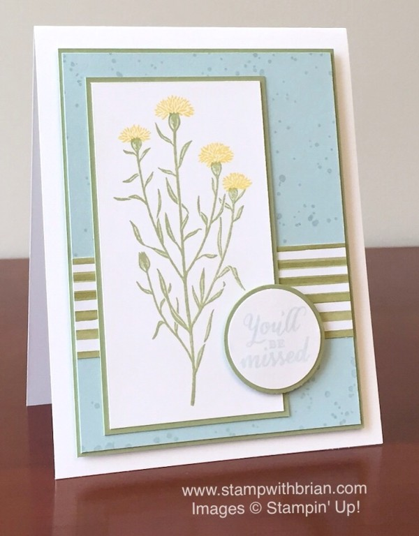 Wild About Flowers, Stampin' Up!, Brian King, GDP005