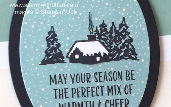 Cozy Christmas, Joyful Season, Stampin' Up!, Brian King
