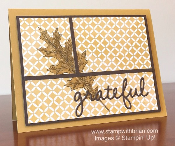 Vintage Leaves, Stampin' Up!, Brian King, FMS207