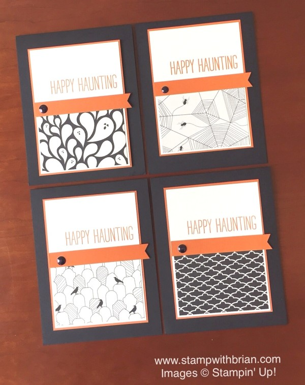 Cheer All Year, Happy Haunting Designer Series Paper, Stampin' Up!, Brian King