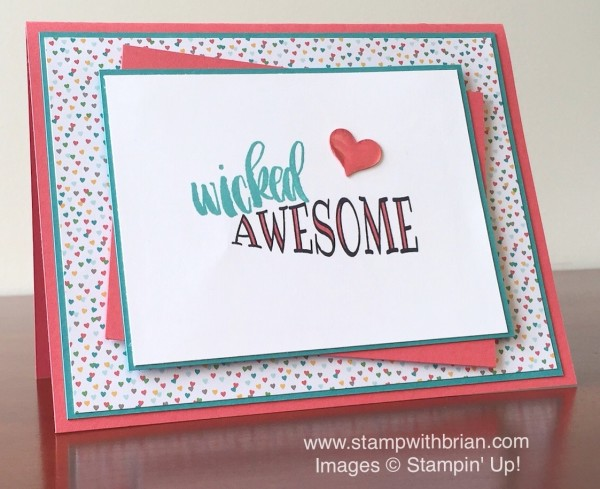 Big News, Project Life Seasonal Snapshot 2015, Stampin' Up!, Brian King