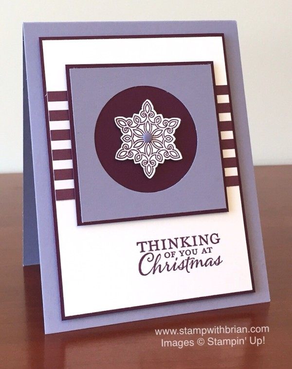 Flurry of Wishes, Embellished Ornaments, Stampin' Up!, Brian King