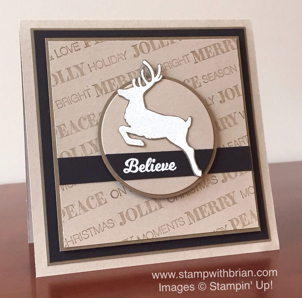 Holly Jolly Greetings, Jolly Christmas, Stampin' Up!, Brian King