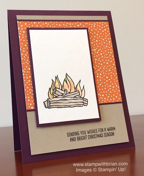 Festive Fireplace, Stampin' Up!, Brian King, PPA275