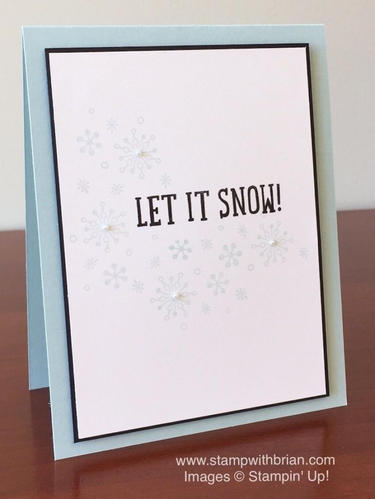 Heres My Card Snow Place Perpetual Calendar Stampin Up Brian King CYCI96