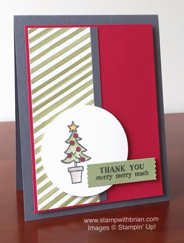 Santa's Gifts, Stampin' Up!, Brian King