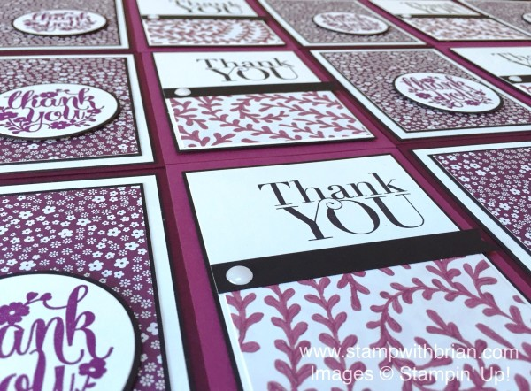 Another Thank You, A Whole Lot of Lovely, Stampin' Up!, Brian King