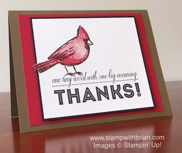 Joyful Season, One Big Meaning, Stampin' Up!, Brian King