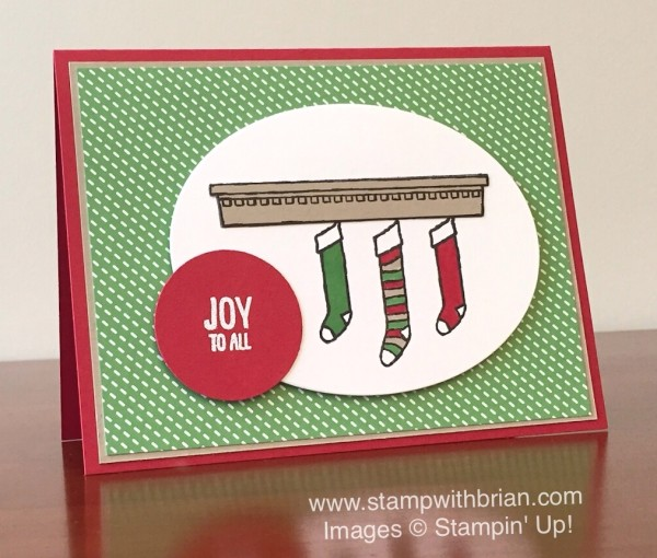 Festive Fireplace, Stampin' Up!, Brian King, PPA278