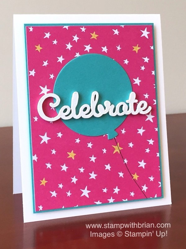 It's My Party Designer Series Paper, Stampin' Up!, Brian King, GDP016