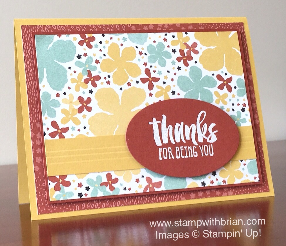 Suite sayings a sneak peek for ppa280 stamp with brian suite sayings botanical gardens designer series paper stampin up brian king m4hsunfo