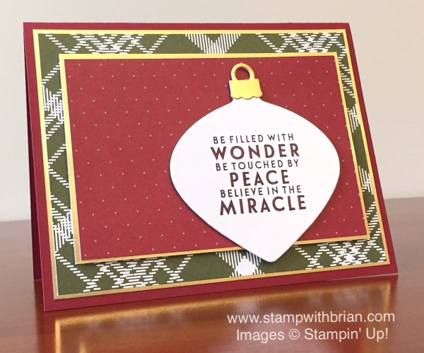 Flurry of Wishes, Stampin' Up!, Brian King, PPA279