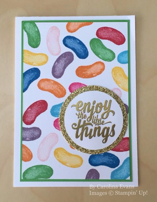 Balloon Builders, Enjoy the Little Things, Stampin' Up!, by Carolina Evans