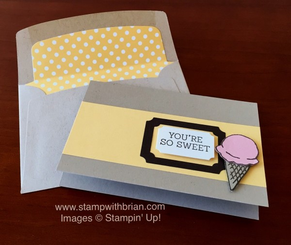 Honeycomb Happiness, Stampin' Up!, Brian King
