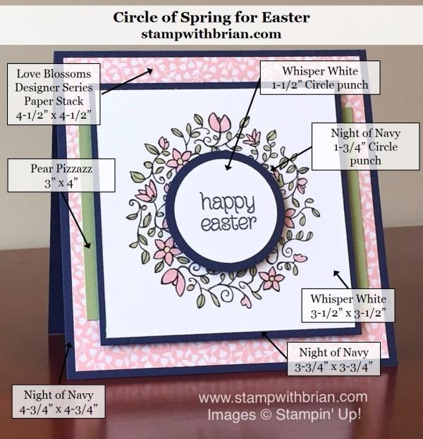 Circle of Spring, Stampin' Up!, Brian King, PPA289