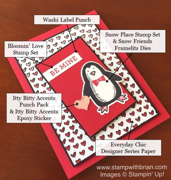 Bloomin' Love, Snow Place, Stampin' Up!, Brian King, FabFri80