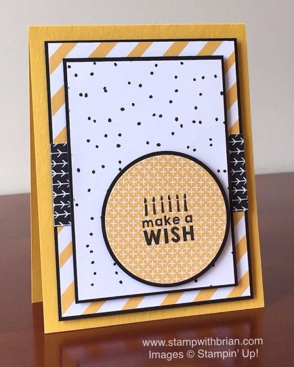 Party Wishes, It's My Party Designer Series Paper Stack, Stampin' Up!, Brian King, GDP022
