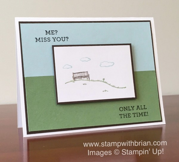 Happy Happenings, Happy Home, Stampin' Up!, Brian King