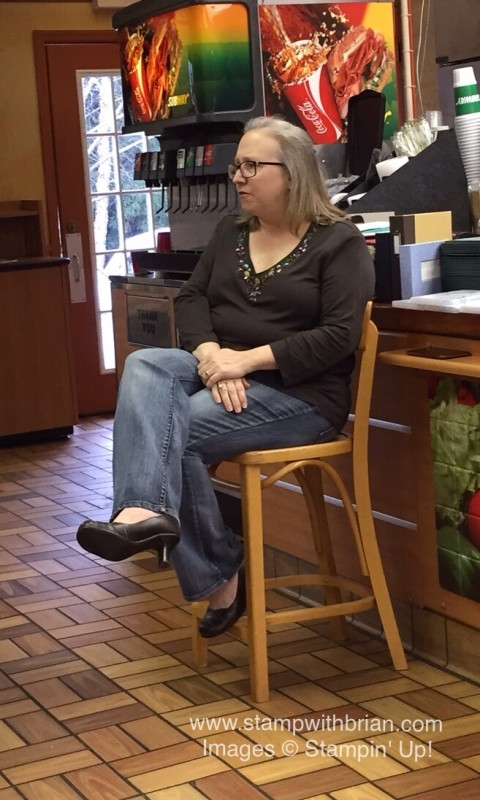 Pam Morris gives a brief history of scrapbooking