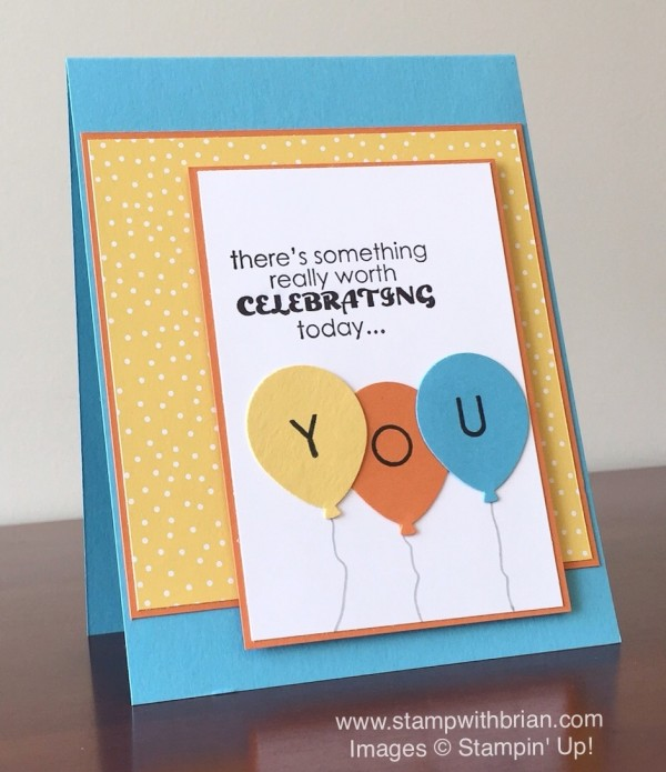 Remembering Your Birthday, Back to Basics Alphabet, Stampin' Up!, Brian King, FMS225