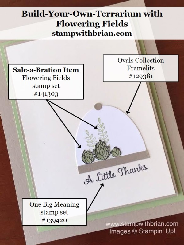Flowering Fields, One Big Meaning, Stampin' Up!, Brian King, GDP027