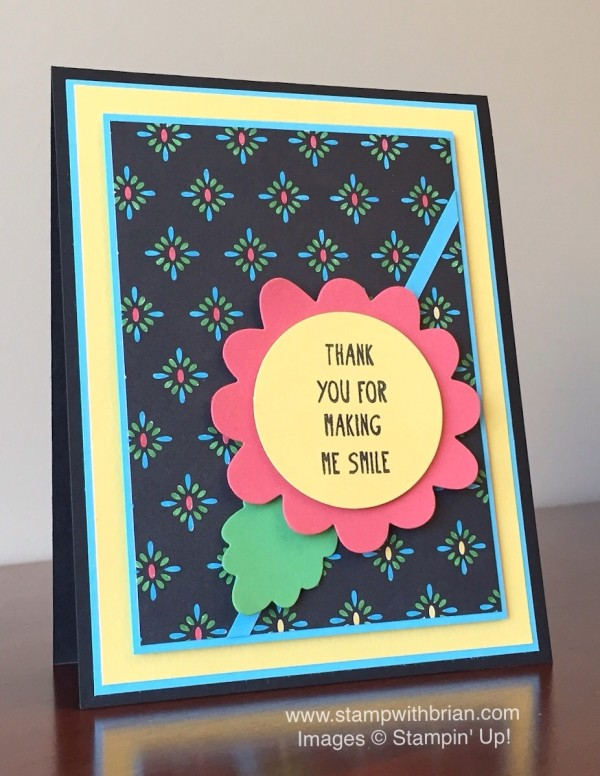 Pretty Thankful, Stampin' Up, Brian King, GDP028