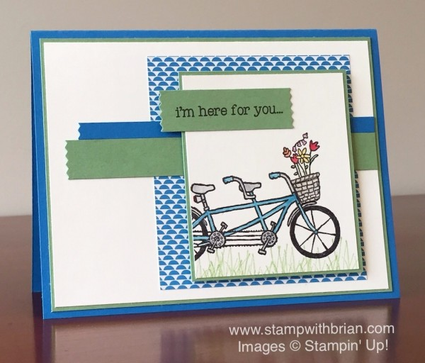 Pedal Pusher, In the Meadow, Stampin' Up!, Brian King, FabFri83
