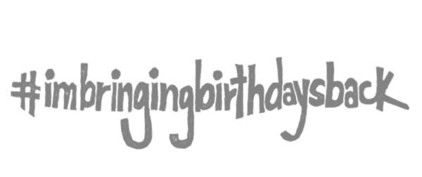 #imbringingbirthdaysback, Stampin' Up!