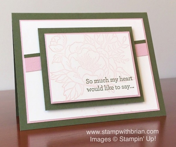 Birthday Blooms, An Open Heart, Stampin' Up!, Brian King, FabFri85