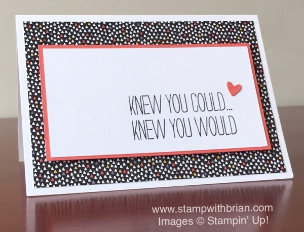 Bravo, Stampin' Up!, Brian King