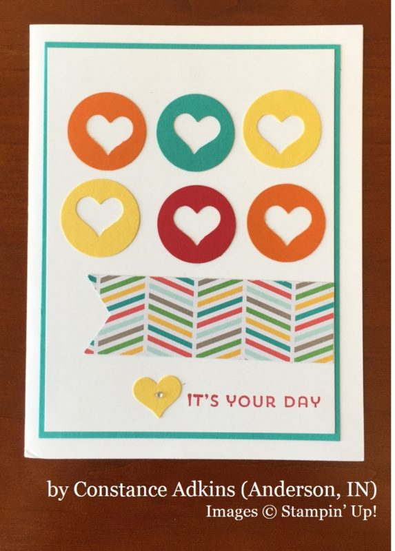 Constance Adkins, Anderson IN, Stampin' Up!, card swap